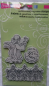 Stampendous - Angel - Cling Rubber Stamp - CRS6001